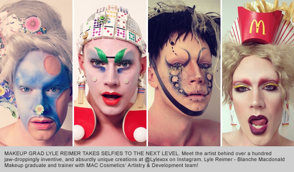 Top Makeup School Graduate Lyle Reimer