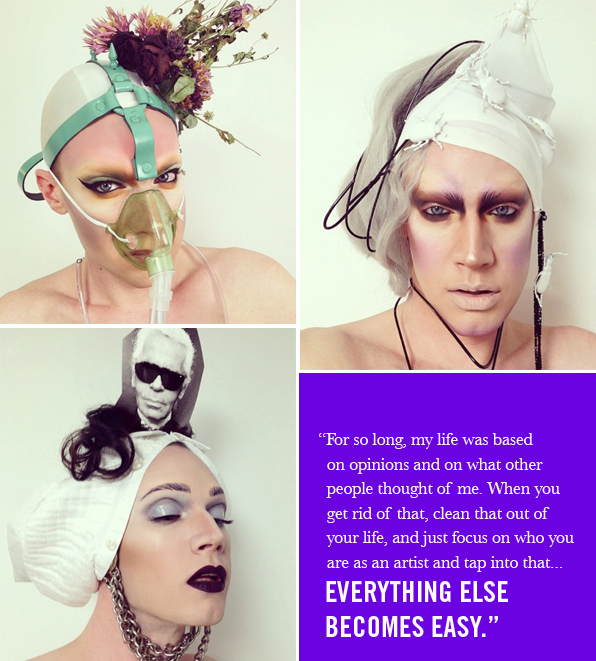 Top Makeup School Graduate Lyle Reimer @LYLEXOX