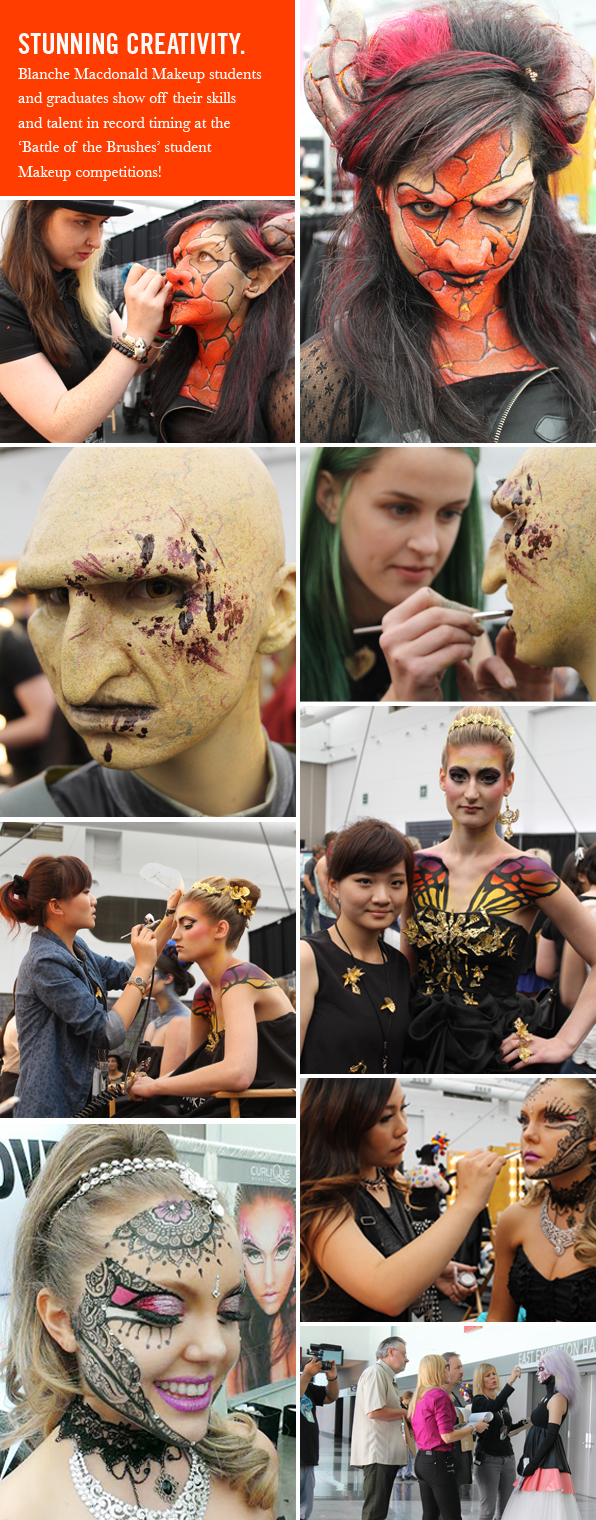 Top Makeup School at IMATS Vancouver 2014