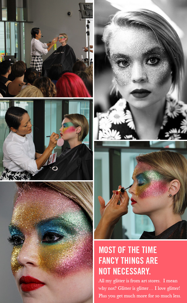 Ayami Nishimura international fashion makeup artist