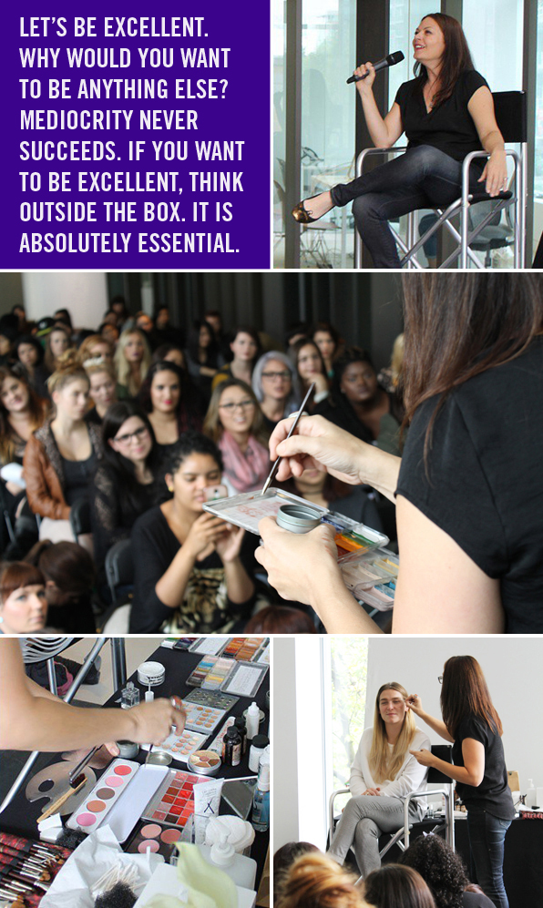 Top Makeup School Guest Speaker Sian Richards
