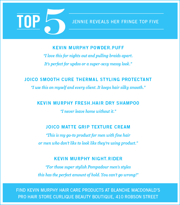 Jennie Keis Top 5 Fave Products