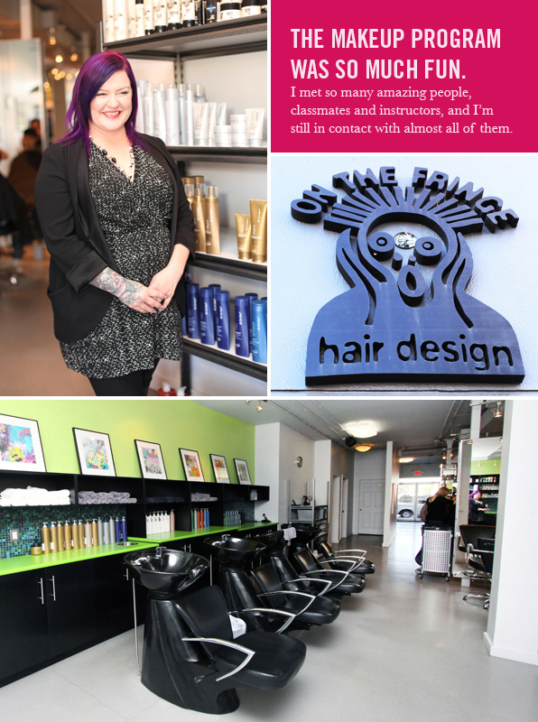 Top Pro Hair School Graduate Jennie Keis
