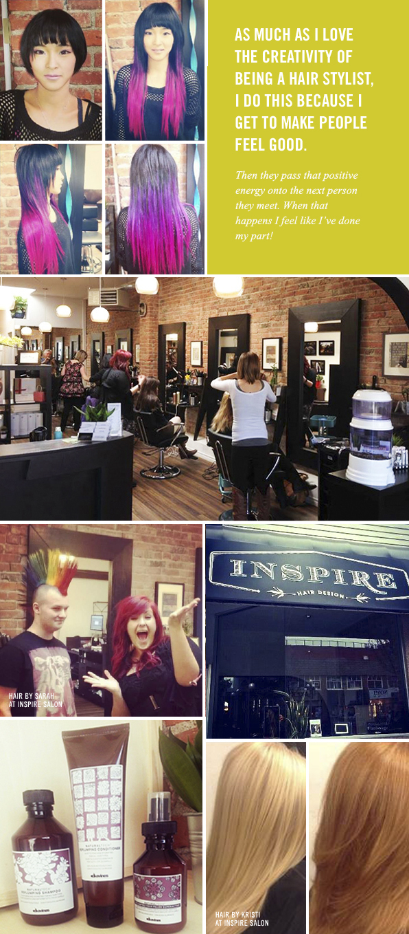 Top Hair School Graduate Sarah Krook, Inspire Hair Design Victoria
