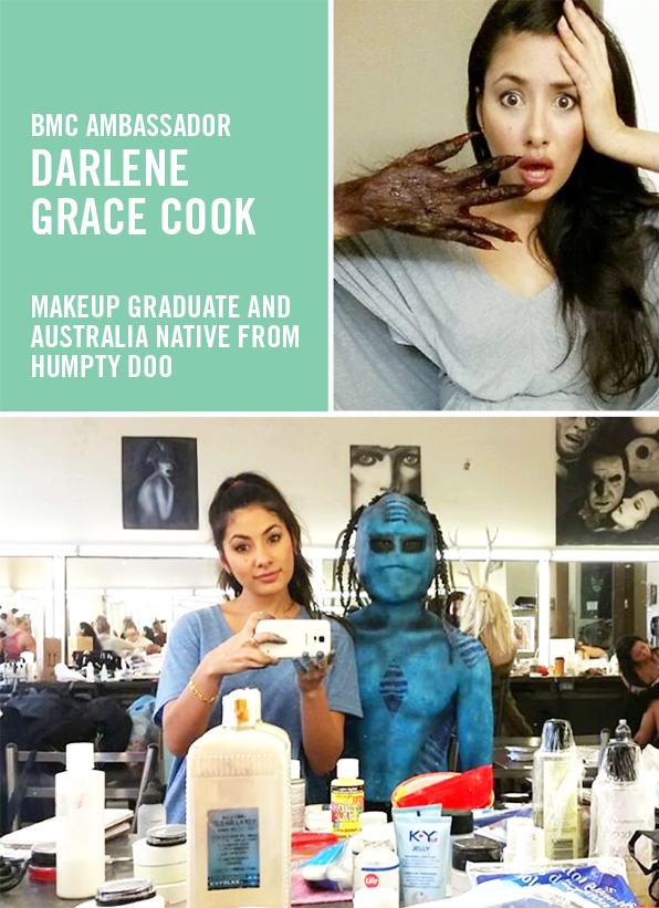 Top Makeup School Graduate Darlene Grace Cook