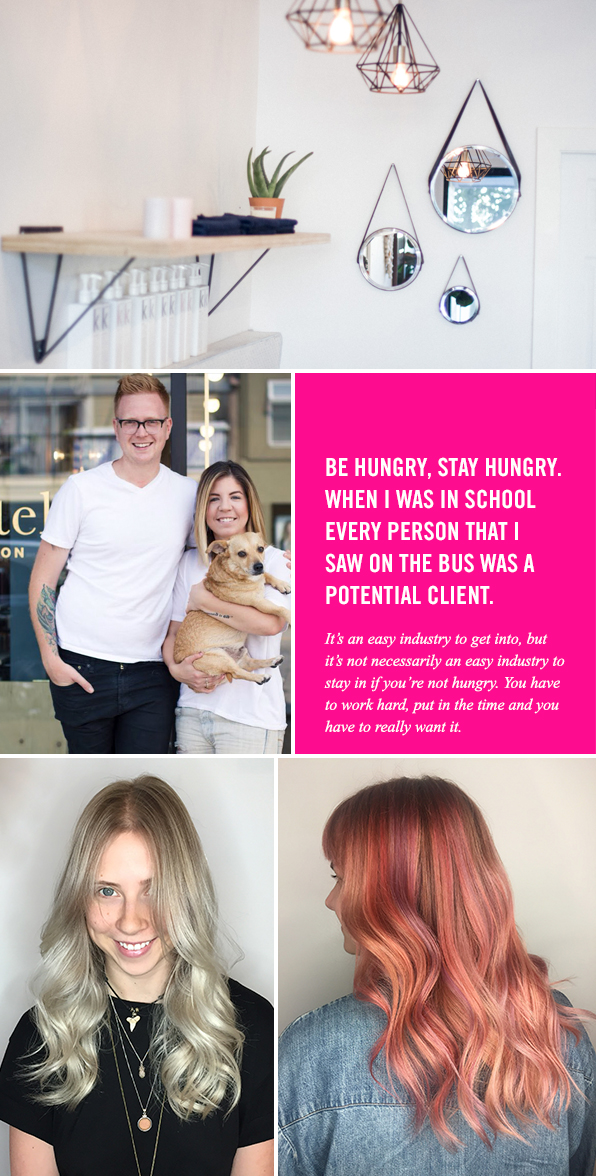 Top Hair School Graduate Eliza Trendiak