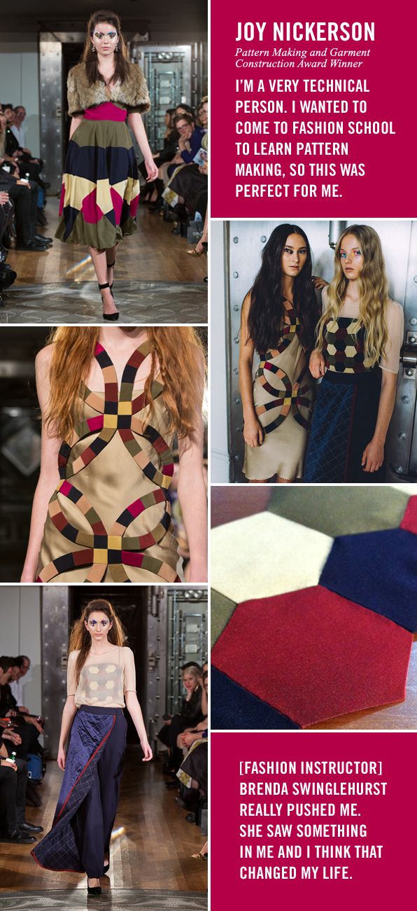 The Places in Between Fall 2015 Fashion Design Graduate Showcase, Blanche Macdonald Centre