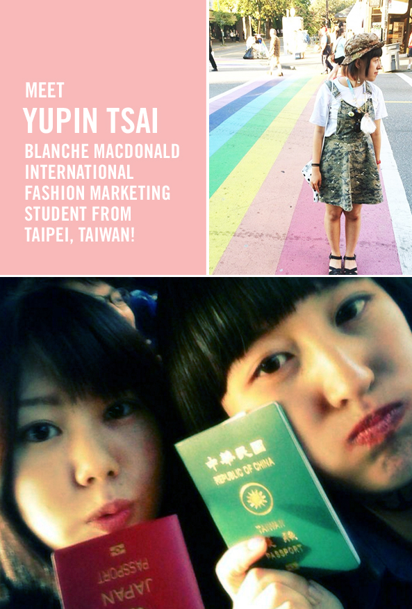 Top Fashion Graduate Yupin Tsai