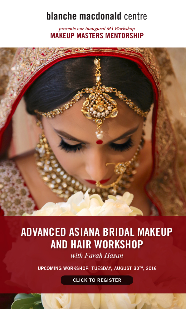 M3 Workshop: Advanced Asiana Bridal Makeup and Hair Workshop by Blanche Macdonald