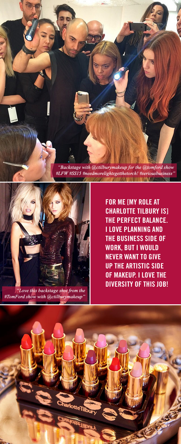 Top Makeup School Graduate Kelly Mitchell, Charlotte Tilbury's National Artistry and Development Manager