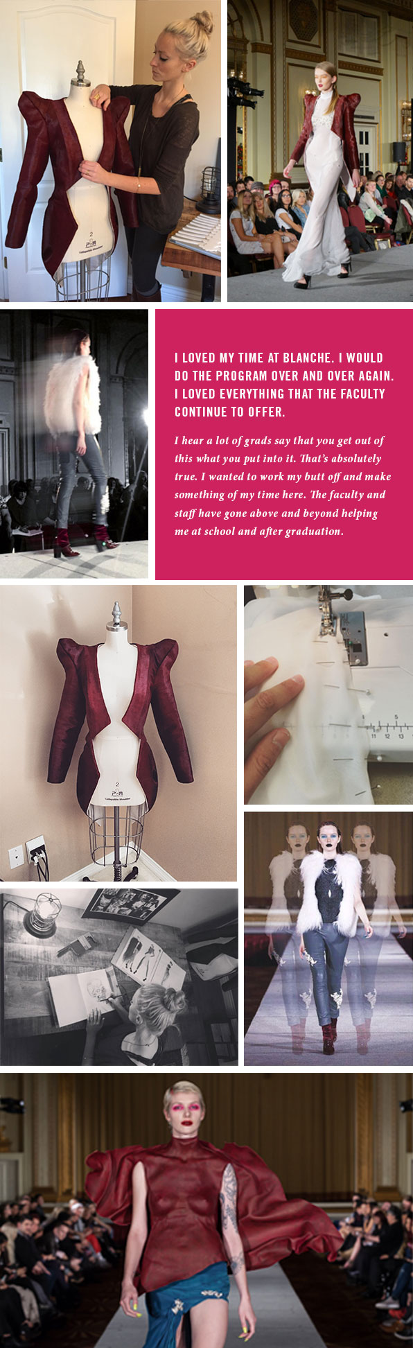 Top Fashion Design School Graduate Kirsten Ley