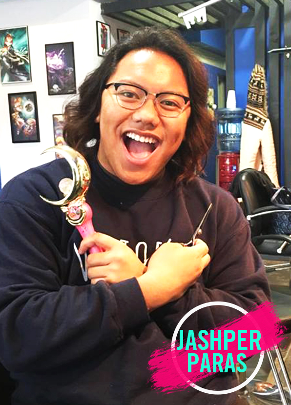Top Hair School Graduate Jashper Paras, Stylist at B-Bombshell Salon