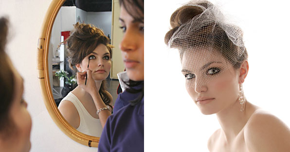 Blanche Macdonald Makeup and Hair for Bridal