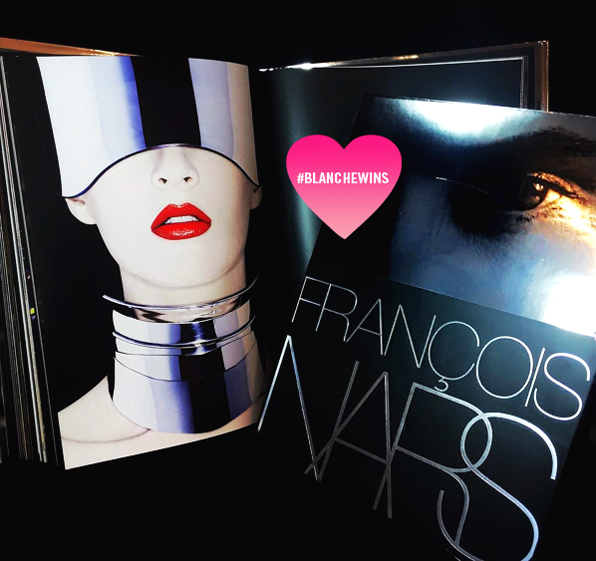 #BLANCHEWINS - NARS Book