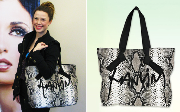 Blanche Macdonald Contest Winner of Lanvin Bag: Narina Seed