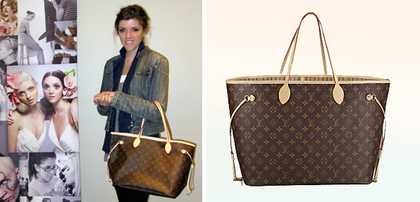 Top Fashion School Contest Louis Vuitton Nevefull Bag