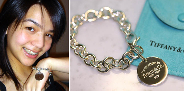 Tiffany and Co. Bracelet Contest Winner