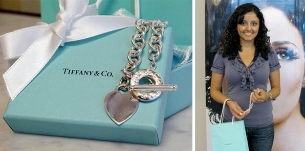 Tiffany and Co. Necklace Contest Winner