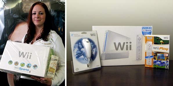 Nintendo Wii Game System Contest Winner