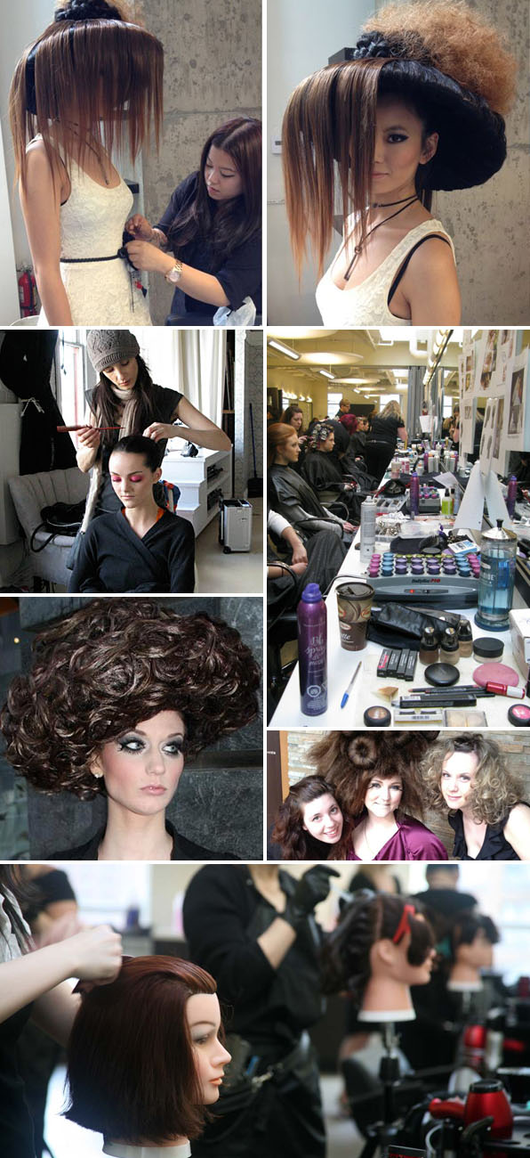 hair school student gallery canada