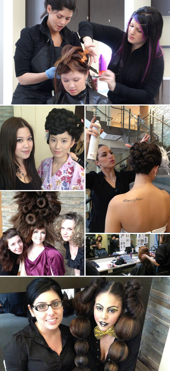 hair stylist school canada