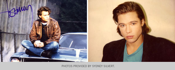 Sydney Silvert Makeup Instructor clients Johnny Depp and Brad Pitt