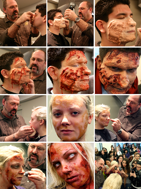 top makeup school seminar workshop with Academy-award winning makeup artist Howard Berger