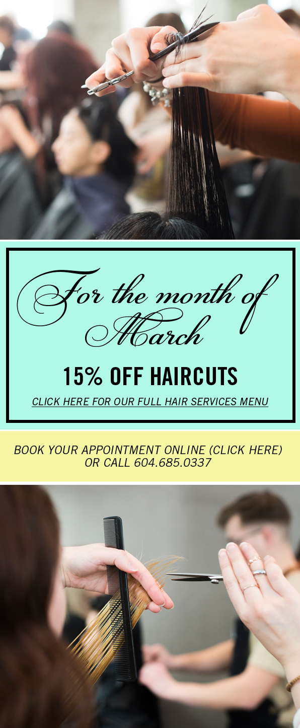 March Hair Specials