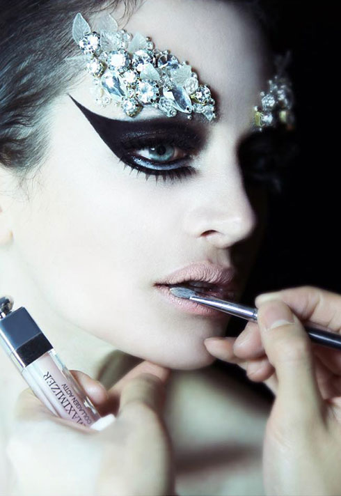 makeup artist turned instructor timothy hung black swan inspired makeup