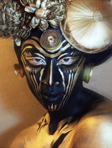 makeup artist turned instructor timothy hung african inspired fashion makeup