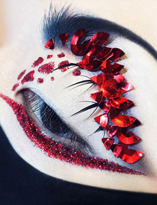 makeup artist turned instructor timothy hung red eye creative