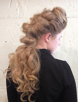 pro hair grad zachary jackson romantic updo