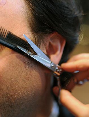 dylan walker hair school graduate sideburn cut closeup