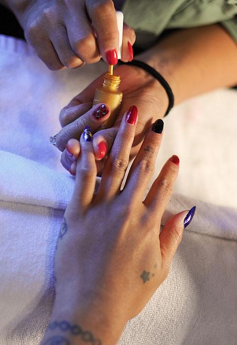 steph urmeneta haus of lacquer manicure