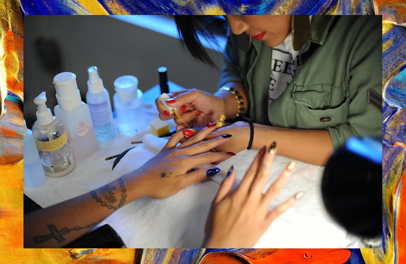 Steph Urmeneta Shines with High End Nail Art at Haus of Lacquer