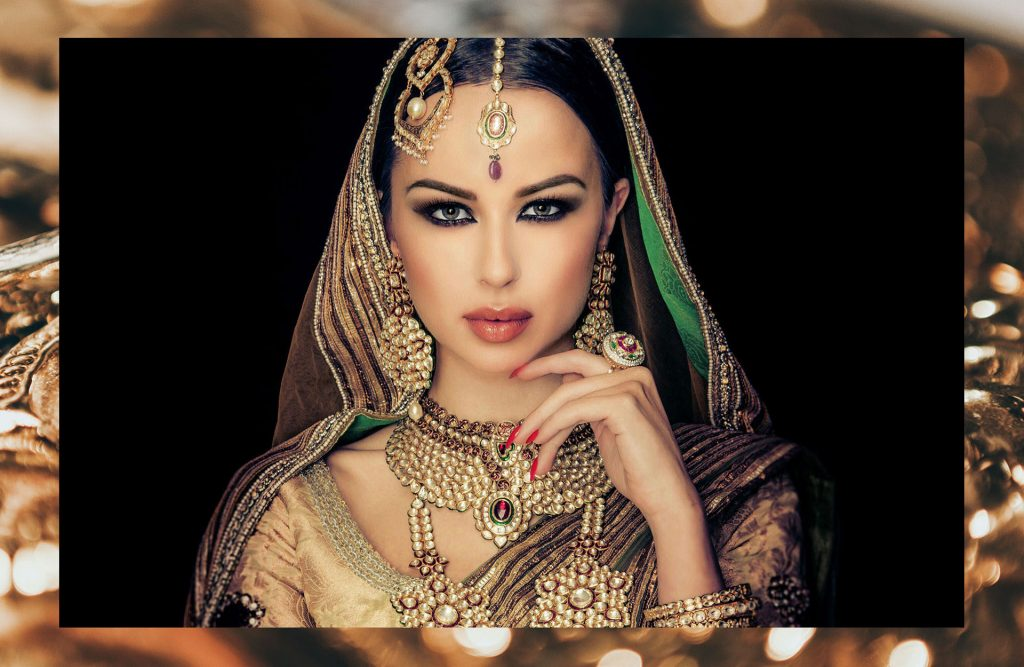 Blanche Macdonald Graduate and Instructor Farah Hasan Blends Bridal Makeup and Bollywood Opulence