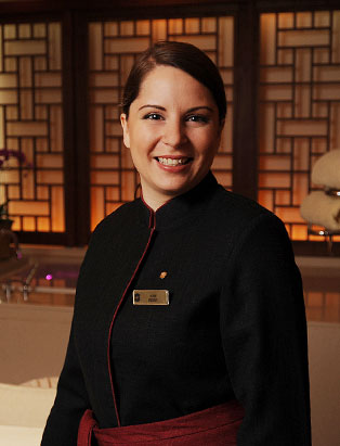 Esthetics Graduate Amy Berry Delivers Spa Paradise at the Shangri-La Hotel