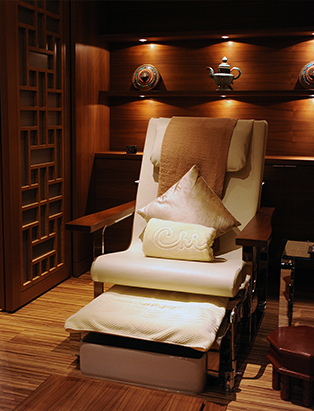 shangri-la hotel spa chi treatment spa chair