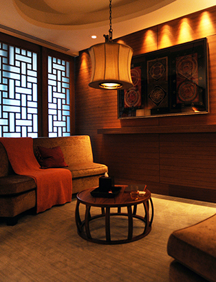 shangri-la hotel spa chi waiting area
