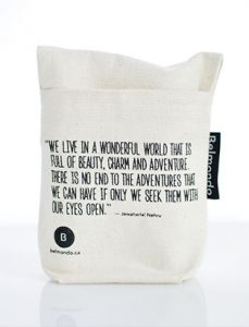daniela belmondo of belmondo skincare products packaging