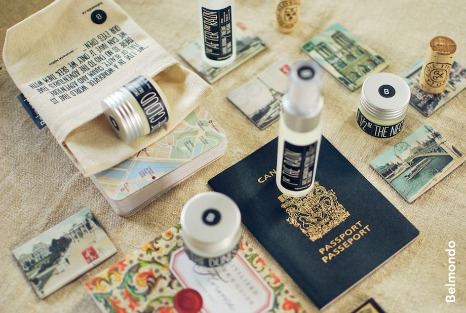 daniela belmondo of belmondo skincare travel kit