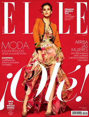 top fashion school graduate chelsea leadbetter elle mexico cover