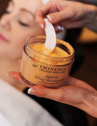 eminence skincare product in jar
