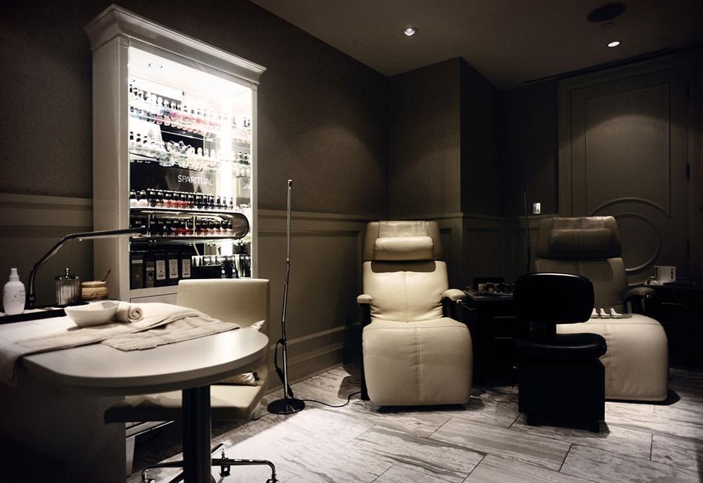 top esthetics graduate lindsay koropchuk rosewood hotel georgia manicure room
