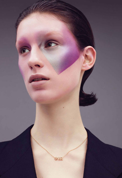 top makeup school graduate janeen witherspoon graphic gradient