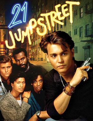 21 jump street staring johnny depp