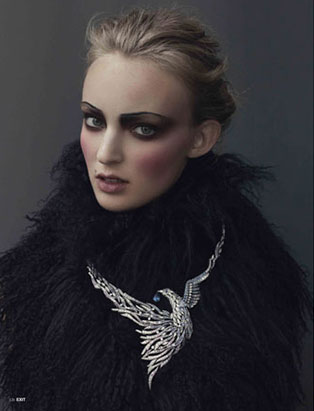 top makeup school graduate janeen witherspoon exit magazine editorial