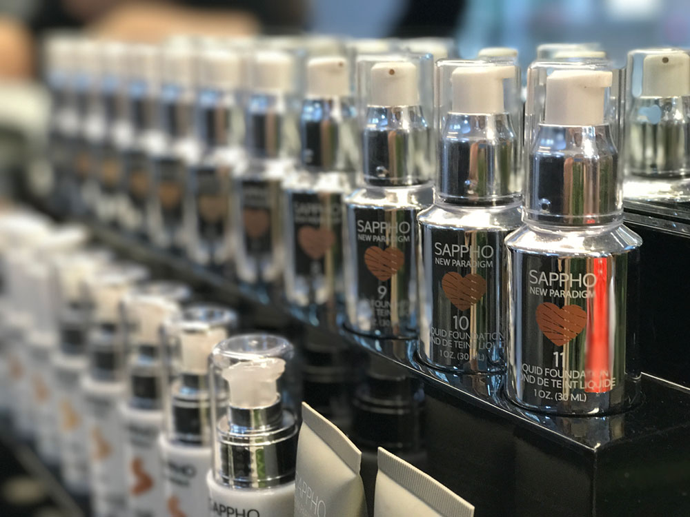 sappho new paradigm cosmetics foundation