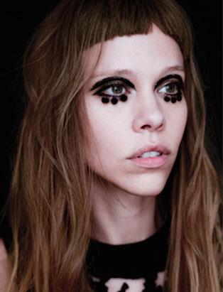 top makeup school graduate jon hennessy mod eyeliner