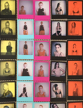 top makeup school graduate jon hennessy polaroids